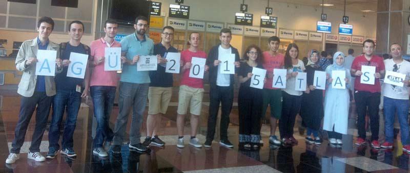 AGÜ-ATLAS İşbirliği ile Öğrenciler Amerikada