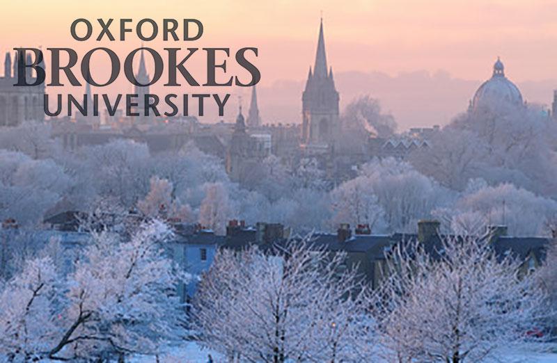 Eylül kayıtlarına yetişemeyenlere Oxford Brookes University