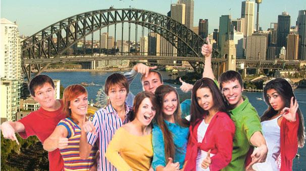 En Mutlu Gençler Avustralyada