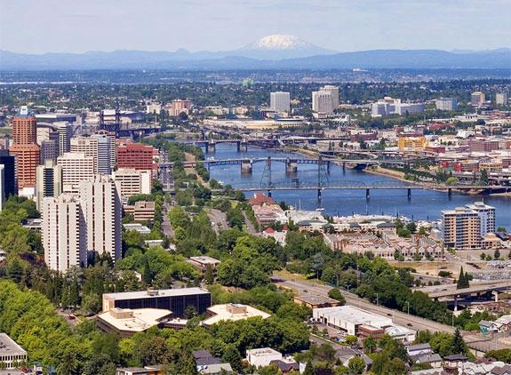 Portland ABD nin Güller Şehri