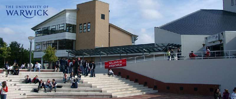 İngiltere'nin en iyilerinden Warwick üniversitesi ile öğrenci görüşmelerine davetlisiniz